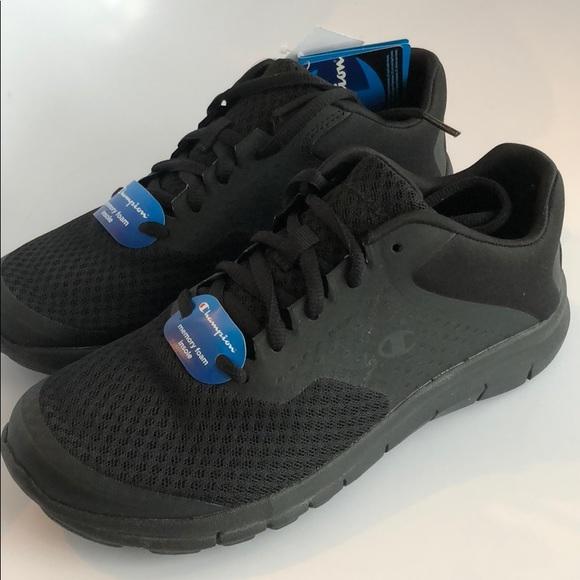 ec3312f496e Black Champion Sneakers